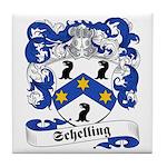 Schelling Family Crest Tile Coaster