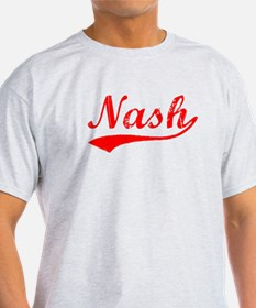 Vintage Nash (Red) T-Shirt