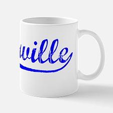 Vintage Porterville (Blue) Mug