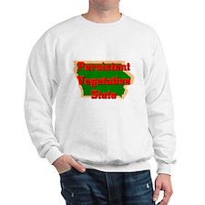 Iowa Vegetative State Sweatshirt