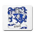 Schick Family Crest Mousepad