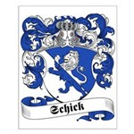 Schick Family Crest Small Poster