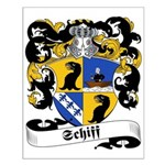Schiff Family Crest Small Poster