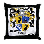 Schiff Family Crest Throw Pillow