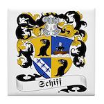 Schiff Family Crest Tile Coaster
