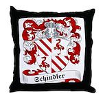 Schindler Family Crest Throw Pillow