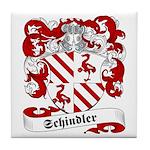 Schindler Family Crest Tile Coaster