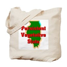 Illinois Vegetative State Tote Bag