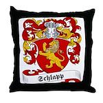 Schlapp Family Crest Throw Pillow
