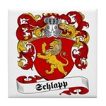 Schlapp Family Crest Tile Coaster