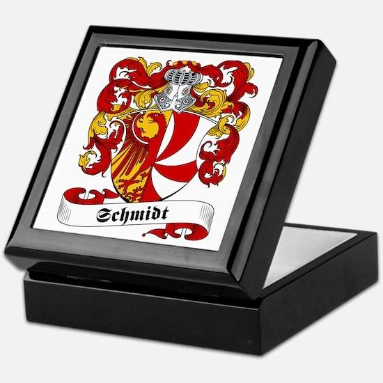 Schmidt Family Crest Keepsake Box
