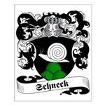 Schneck Family Crest Small Poster
