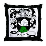 Schneck Family Crest Throw Pillow