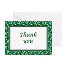 Blank Thank You boxed notecards
