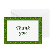 Blank Thank you notecards (Pk of 10)