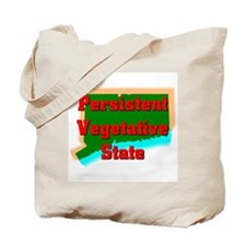 Connecticut Vegetative State Tote Bag