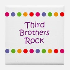 Third Brothers Rock Tile Coaster
