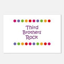 Third Brothers Rock Postcards (Package of 8)