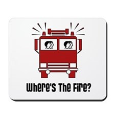 Where's The Fire? Mousepad