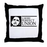 Obama: A more perfect Union Throw Pillow