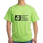 Obama: A more perfect Union Green T-Shirt