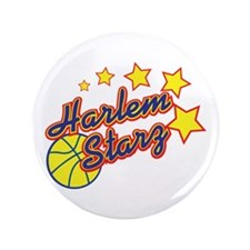 "The Harlem Starz 3.5"" Button"