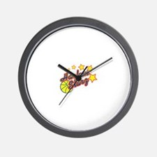 The Harlem Starz Wall Clock