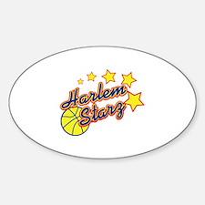 The Harlem Starz Oval Sticker (50 pk)