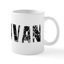 Donavan Faded (Black) Mug