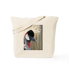 Helaine's Crowned Crane Tote Bag