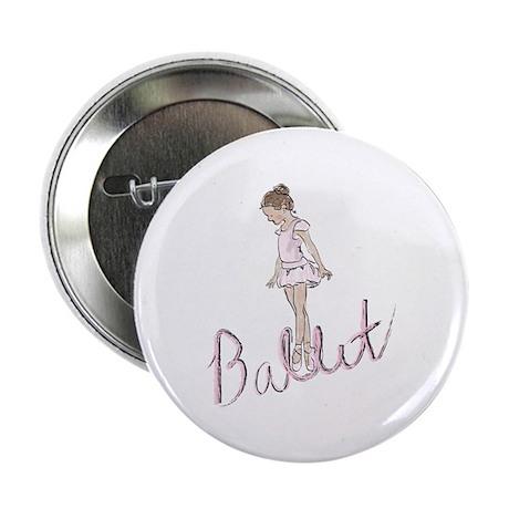 """Ballerina 2.25"""" Button (10 pack)"""