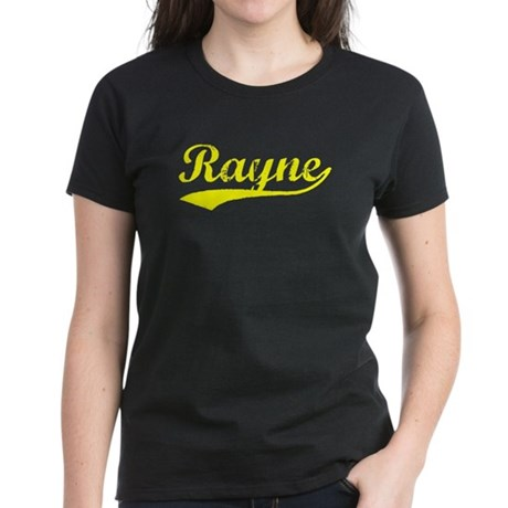 Vintage Rayne (Gold) Women's Dark T-Shirt