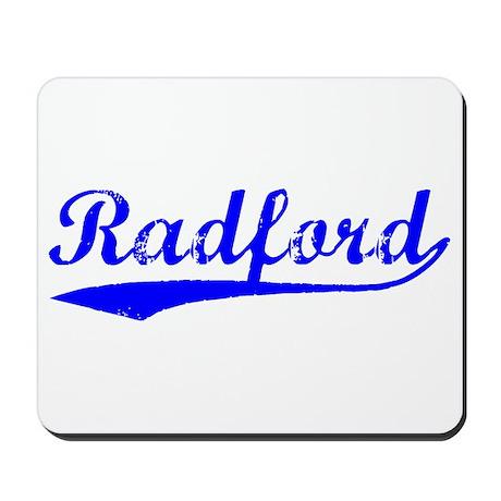 Vintage Radford (Blue) Mousepad
