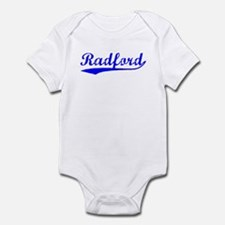 Vintage Radford (Blue) Infant Bodysuit