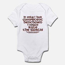Funny Henchman Joke Infant Bodysuit
