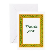 Sassy thank you cards! Blank inside, boxed.