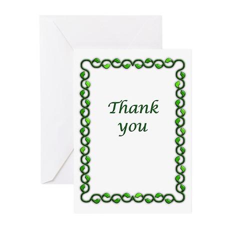 Simple, elegant thank you cards. Boxed, envelopes.