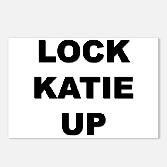 I don't want to free katie Postcards (Package of 8