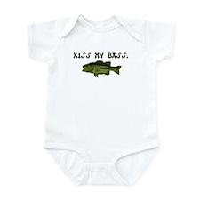 Kiss my Bass Infant Bodysuit