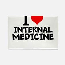 I Love Internal Medicine Magnets