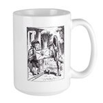 Fish-Footman Large Mug