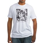 Fish-Footman Fitted T-Shirt