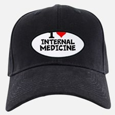 I Love Internal Medicine Baseball Hat