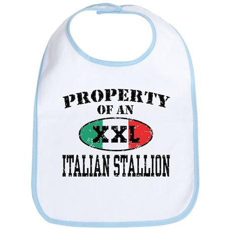 Property of an Italian Stallion Bib