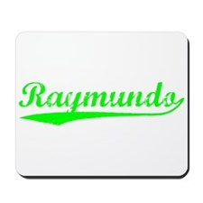 Vintage Raymundo (Green) Mousepad