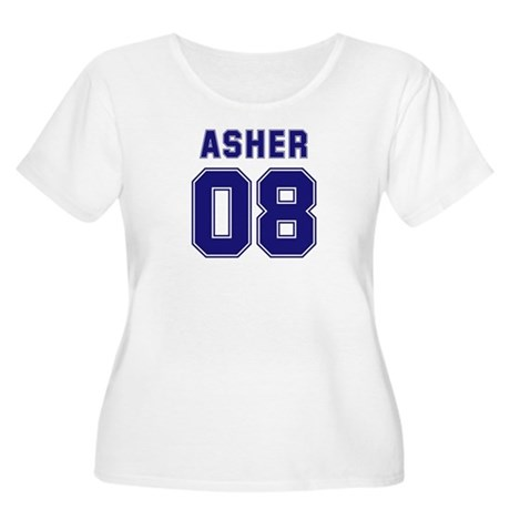 Asher 08 Women's Plus Size Scoop Neck T-Shirt