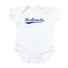 Vintage Redlands (Blue) Infant Bodysuit