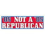 08 Anti-Republican Bumper Stickers (10 pk)