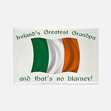 Ireland's Greatest Grandpa Rectangle Magnet