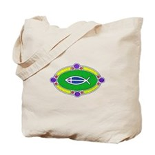 Ichthus Tote Bag